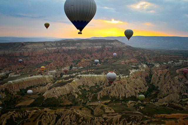 Kapadokya Balloon Ride in Cappadocia