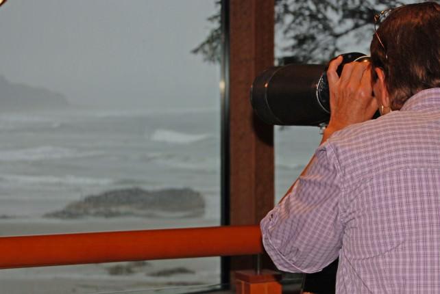 Storm Watching at Wickaninnish Inn