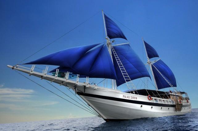 Sam's Tours Introduces New Liveaboard Dive Yacht, Palau, Micronesia
