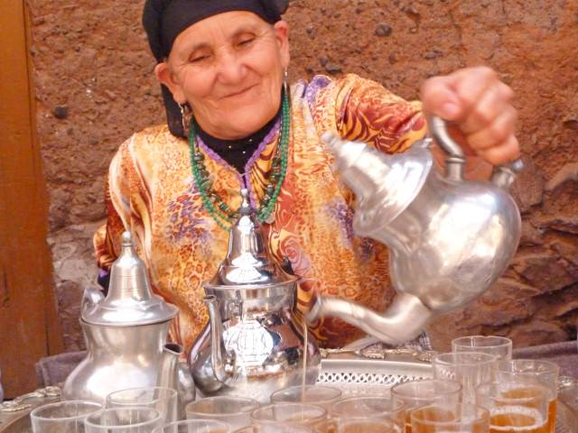 Berber Woman in Morocco