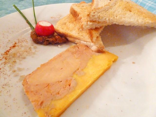 Bordeaux Dinner - Foie Gras Terrine Starter