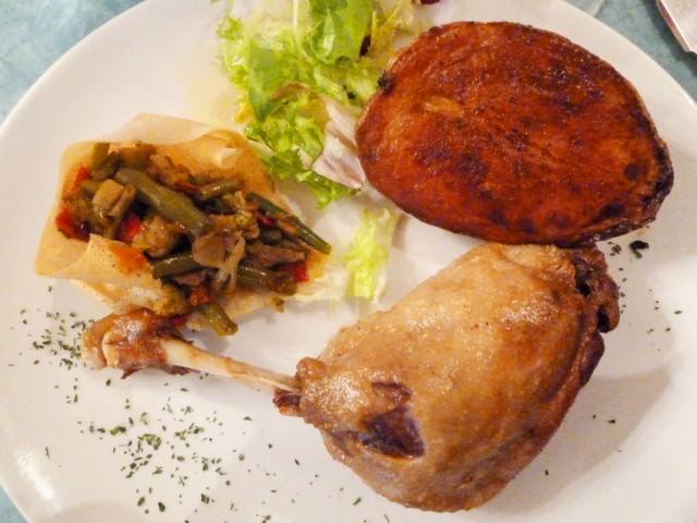Bordeaux Dinner - Duck Confit Main Course