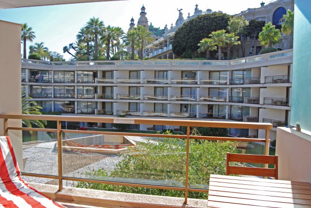 Fairmont Monte Carlo Guestroom Patio