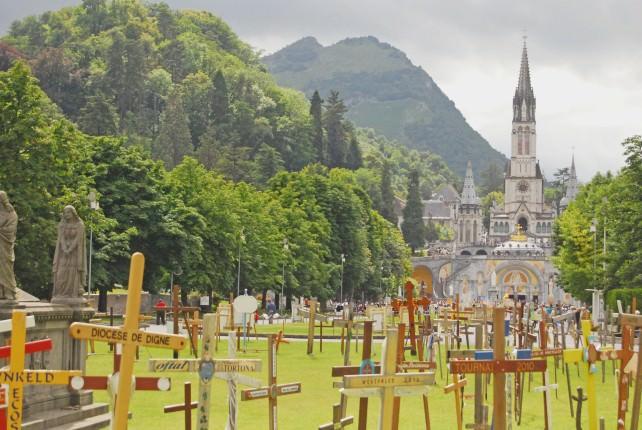 Lourdes in France