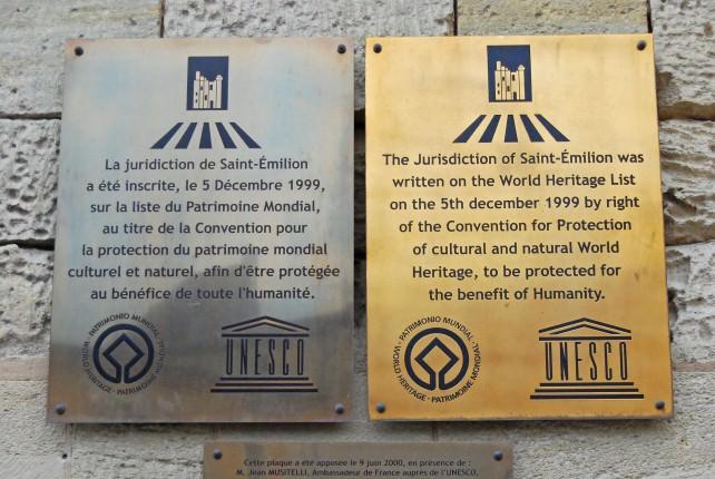Saint Emilion is a UNESCO World Heritage Site