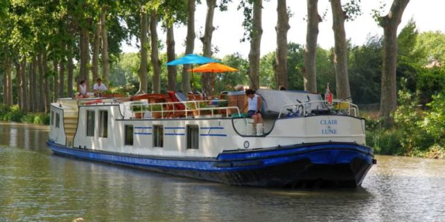 Travel News: Claire de Lune Luxury Hotel Barge in Southern France 2013