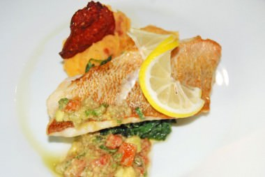 Fillet of Red Fish - Entree