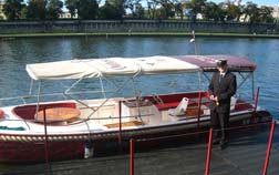 Poland: Andrzej and tour boat