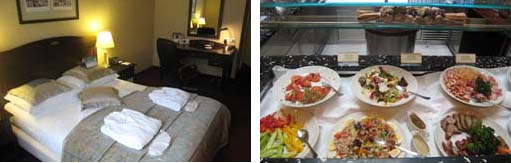 Holiday Inn Krakow City Center - Room and Buffet
