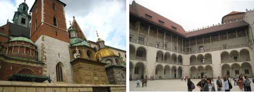 Wawel Cathedral and arcaded courtyard