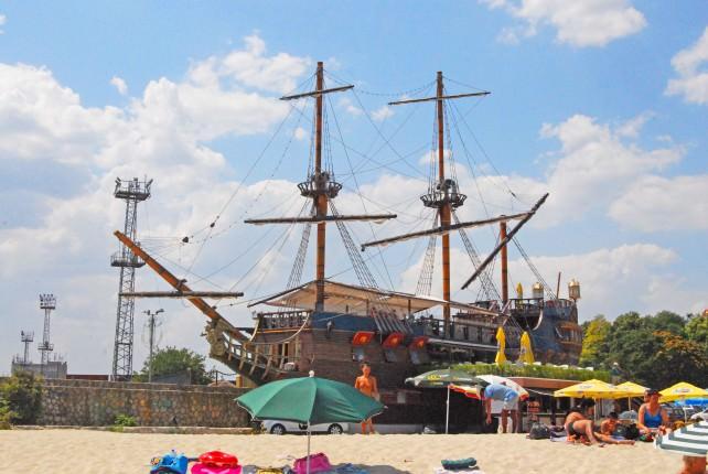 Pirate Ship Mr Baba in Varna