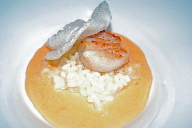 A Delicious In Between - Grilled Bay Scallop
