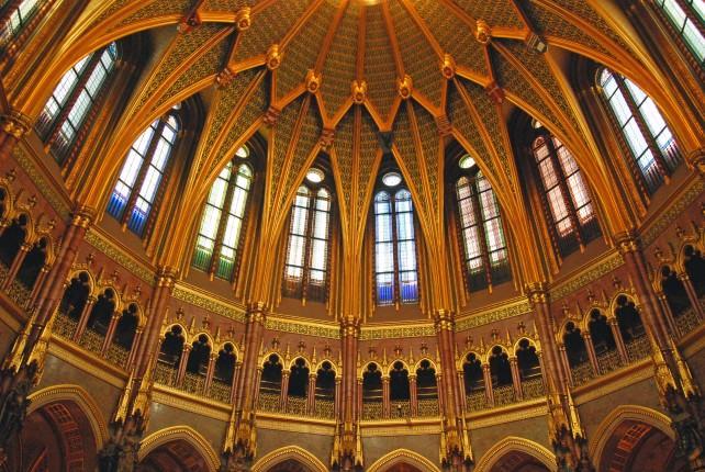Budapest Parliament Dome Hall