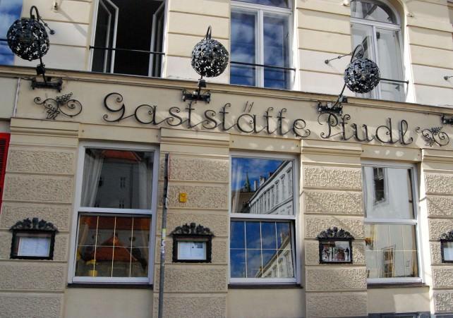 Gaststatte Pfudl Along Bäckerstrasse