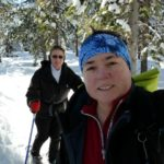 Jill and Viv Go Snowshoeing