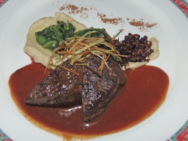 Five-Spice Crusted Cervena Venison Loin