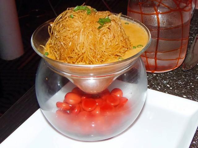 Celebrity Summit Qsine Restaurant - Lava Crab