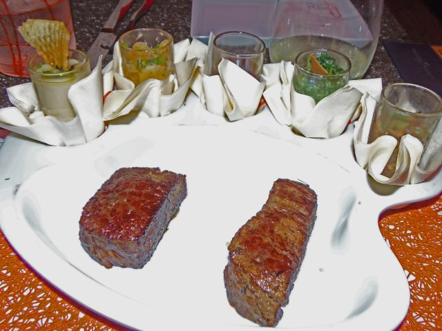 Painter's Mignon at Qsine Specialty Restaurant