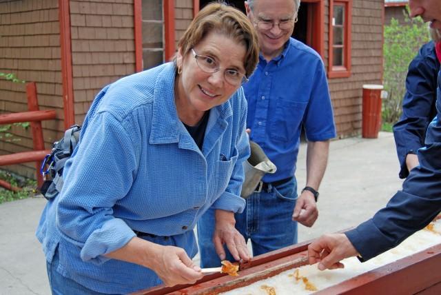 Jill Visits a Sugar Shack Near Quebec City