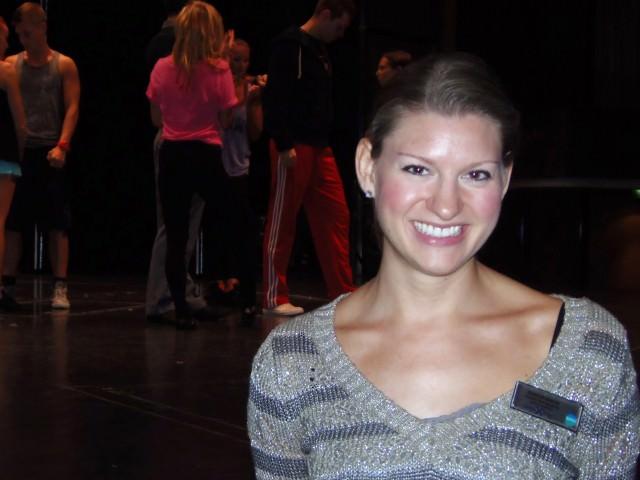 Celebrity Theater Production Manager Jennifer Geisler