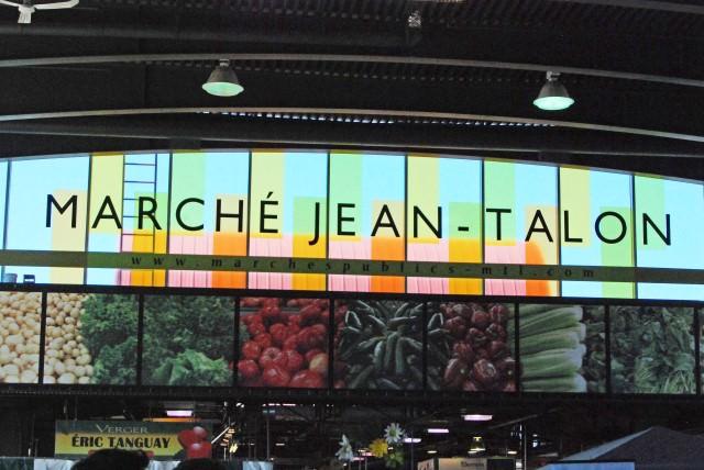 Jean-Talon Market in Montreal, Quebec