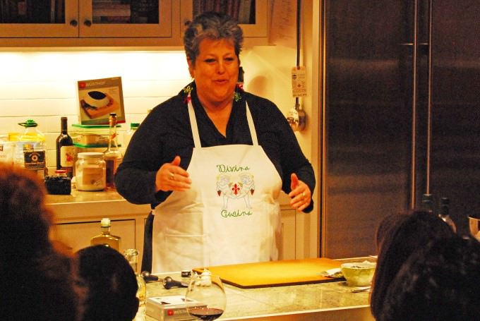 Ginger's Kitchenware - Cooking Fettuna With Judy Witts-Francini