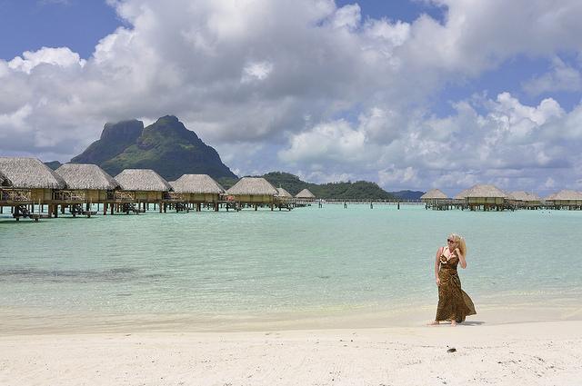 Bora Bora: Bungalows, Beachs, Baguettes and Black Pearls