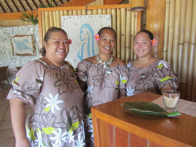 Locals in Bora Bora