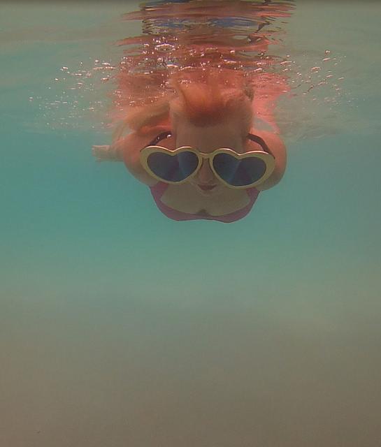 Underwater Fun in Bora Bora