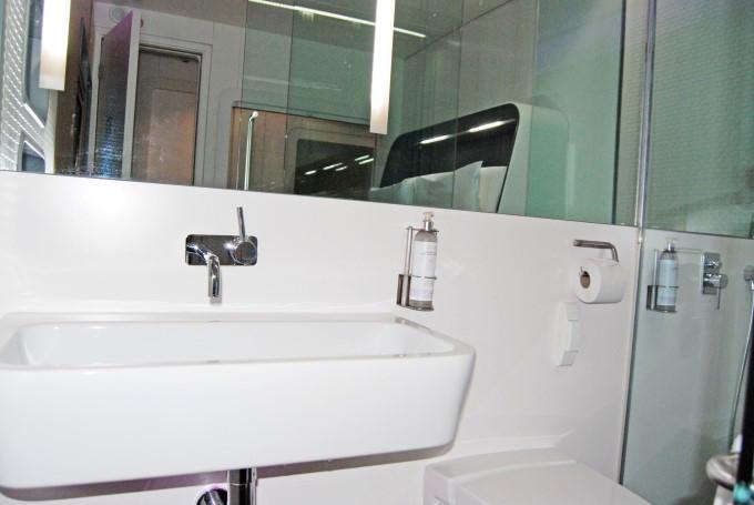Yotel Premium Cabin Bathroom