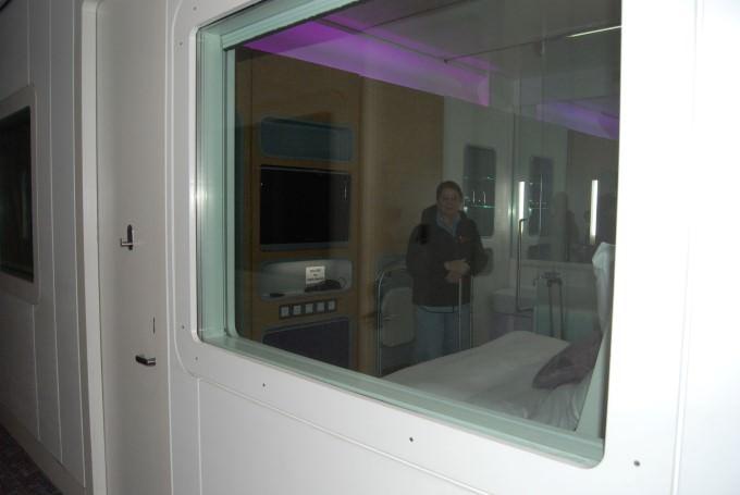 Yotel Schiphol Premium Cabin #4