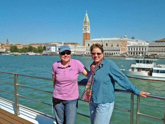 Viv and Jill Stay Connected in Venice with XCom Global MiFi