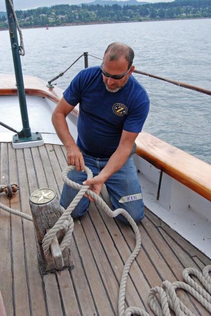 Schooner Zodiac Volunteer Crew Member Ken