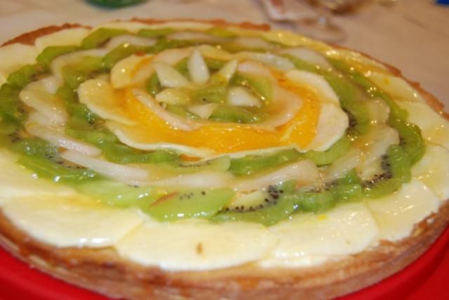 Fruit Tart at Ristorante La Trappola