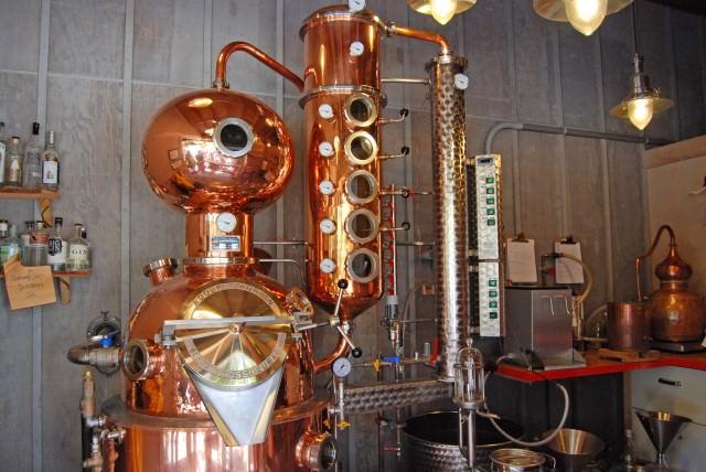 San Juan Island Distillery near Roche Harbor on San Juan Island