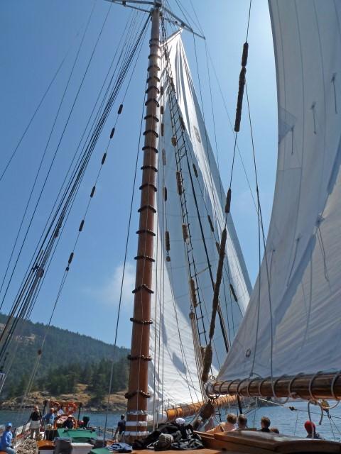 Ready to Sail on Schooner Zodiac