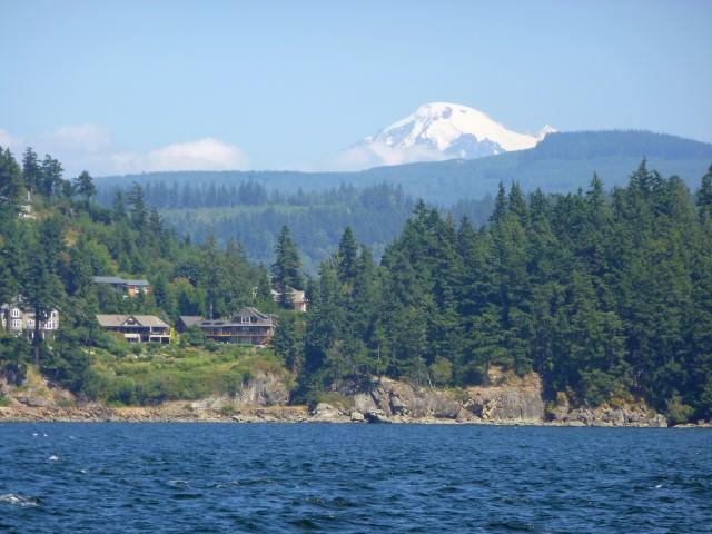 Mt. Baker and Bellingham Bay