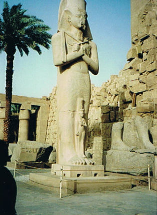 Karnak Temple is the largest open-air religious sight in the world.