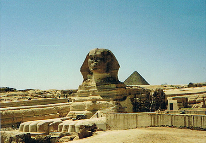 Sphinx Pyramid in Egypt