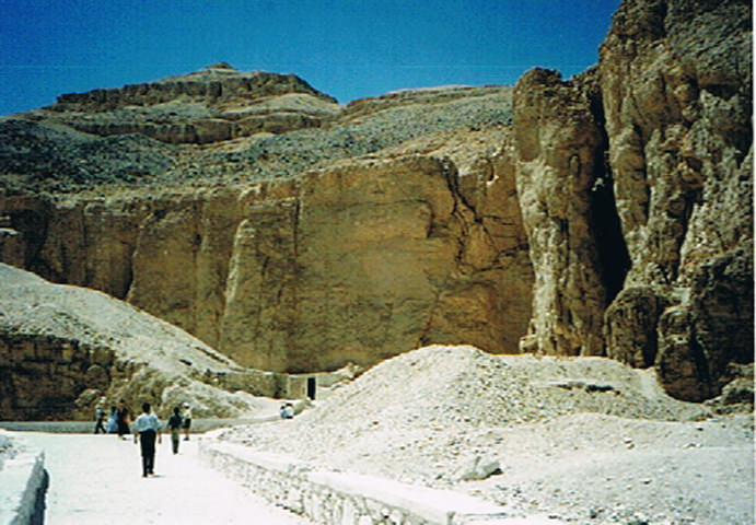 Amenhotep III Statues - Valley of the Kings