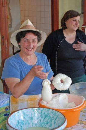 Women in Sorrento, Italy