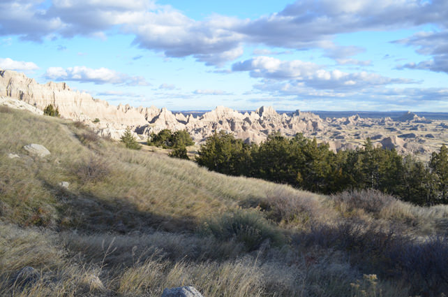 Badlands National Park - Around every bend in the road is another stunning landscape