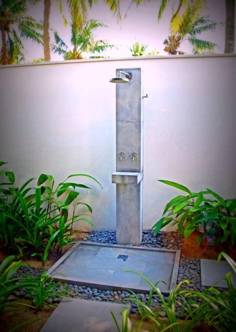The Nam Hai Villa - Outdoor Shower
