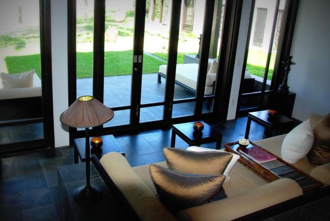 The Nam Hai Villa - Sitting Lounge
