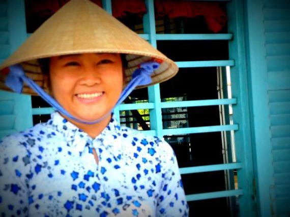 Lady in Chau Doc, Vietnam