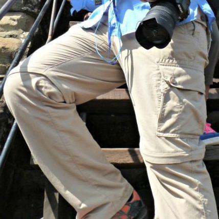 Clothing Arts Pick-Pocket Proof Convertible Pants