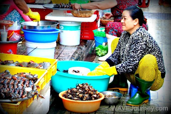 Woman in Vietnam