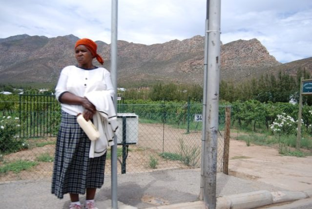 Woman in South Africa
