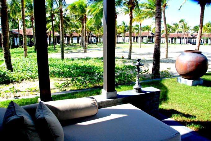 The Nam Hai Villa Patio