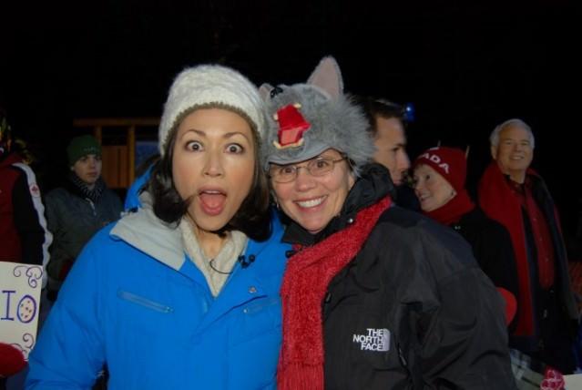 Ann Curry and Jill